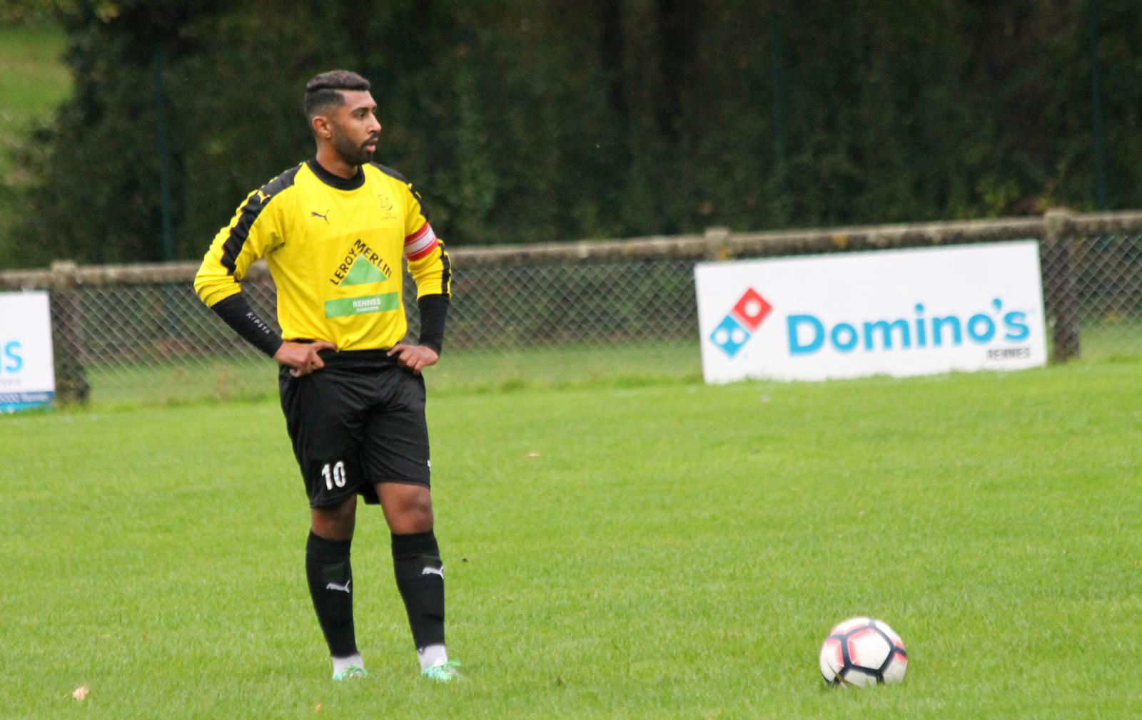 PHOTO SENIORS M : RENNES ESPERANCE - AS CHANTEPIE  13/10/2019 2ND TOUR COUPE MAXIME PORTIER