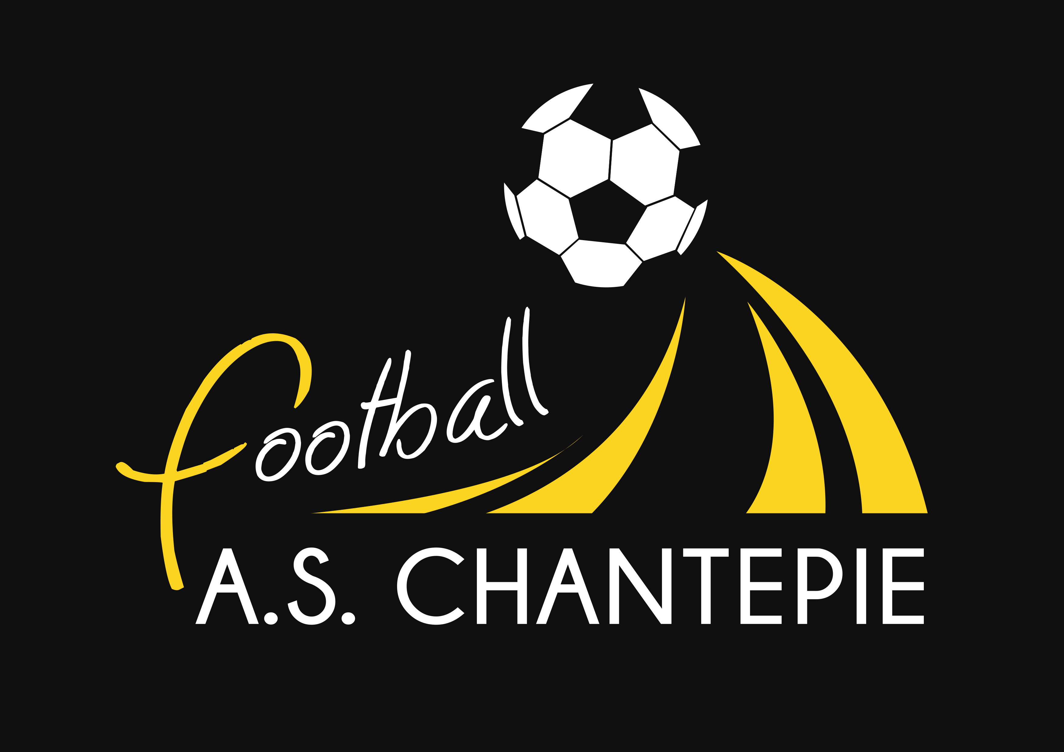 Logo AS CHANTEPIE FOOTBALL